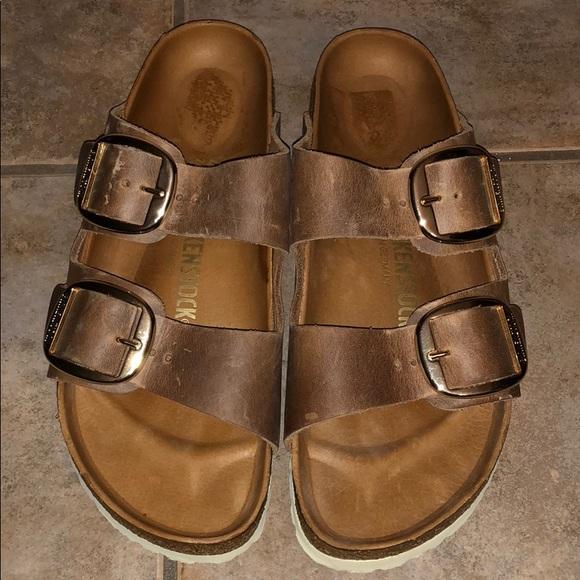 05f177a1283e Birkenstock Shoes - Birkenstock Arizona Big Buckle Slide Sandal 40 9
